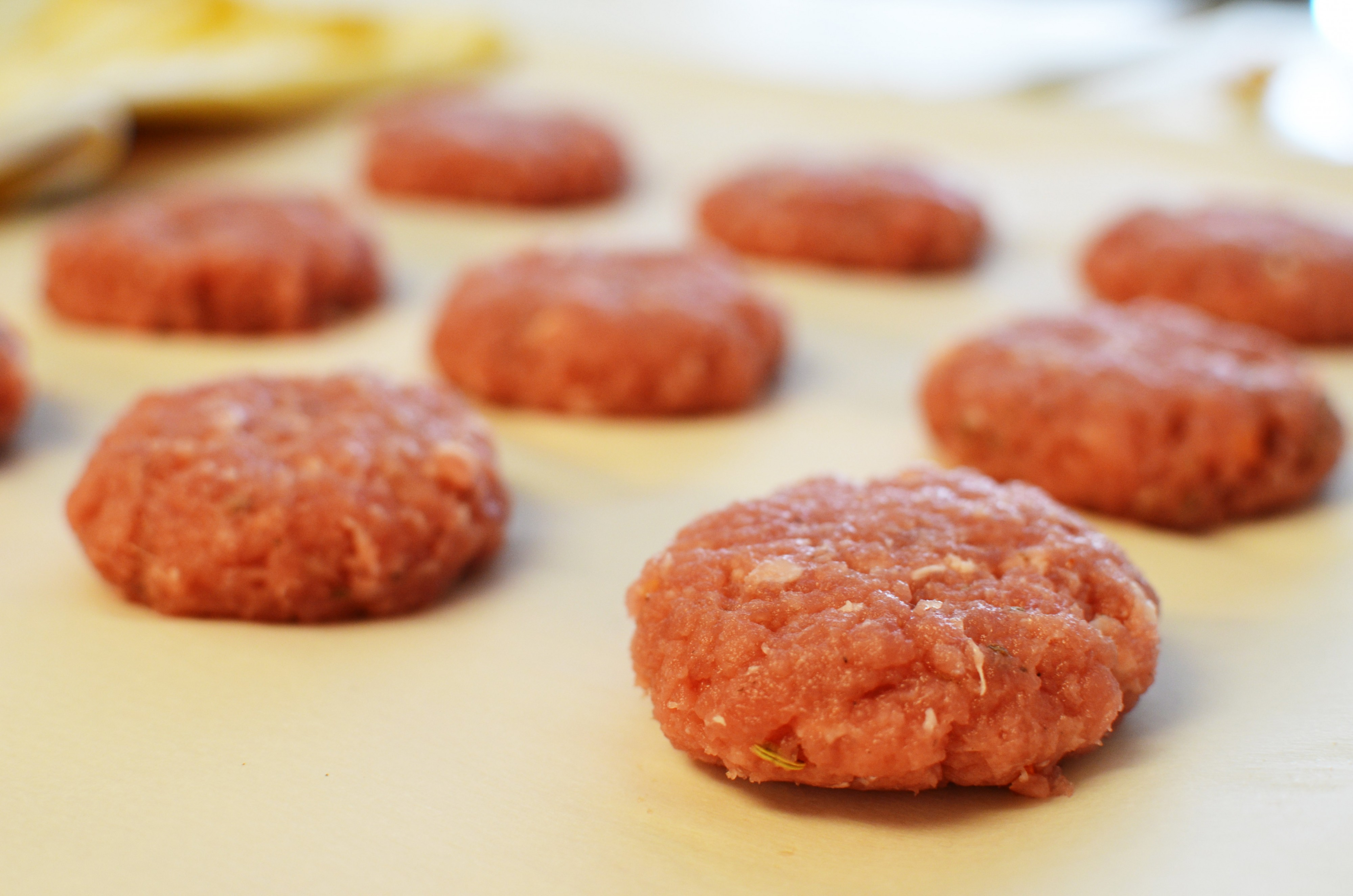 Raw Breakfast Sausage Patty | Sprig and Flours