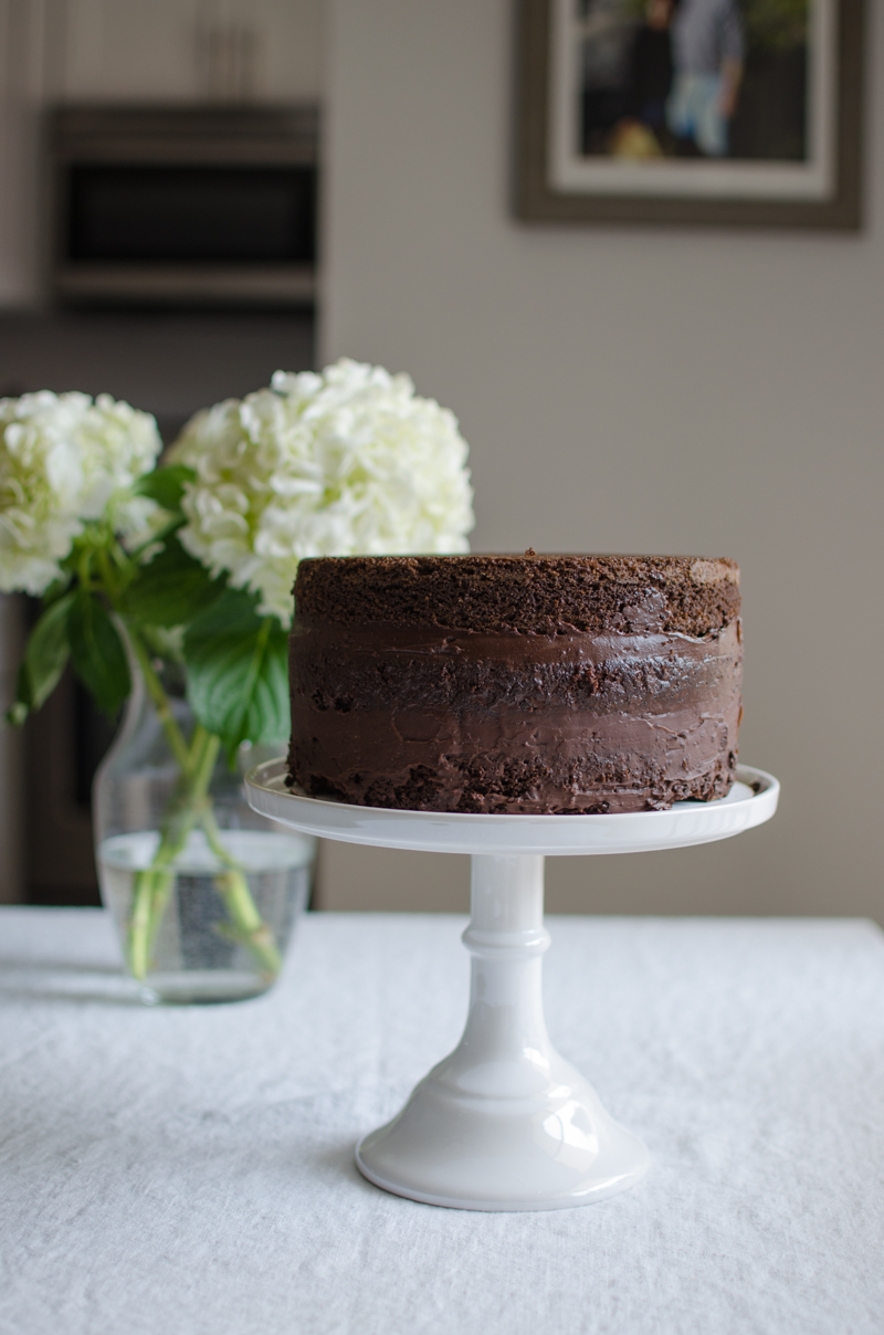 Chocolate Cake | Sprig and Flours