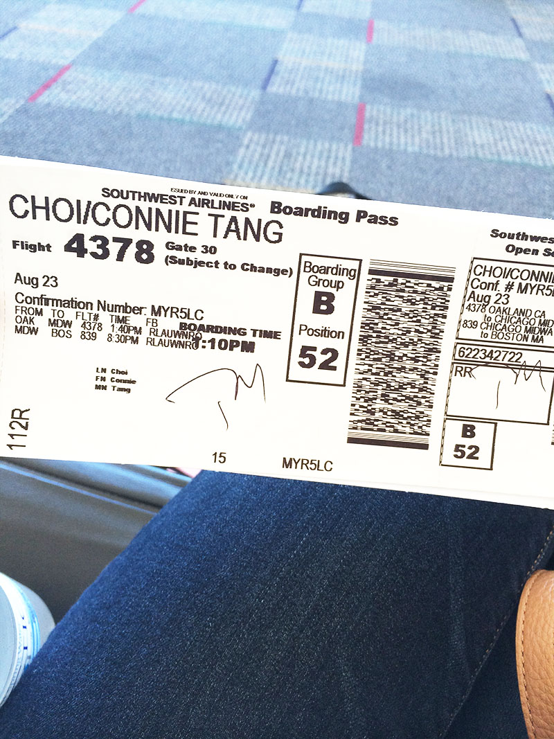 Boarding Pass | Sprig and Flours