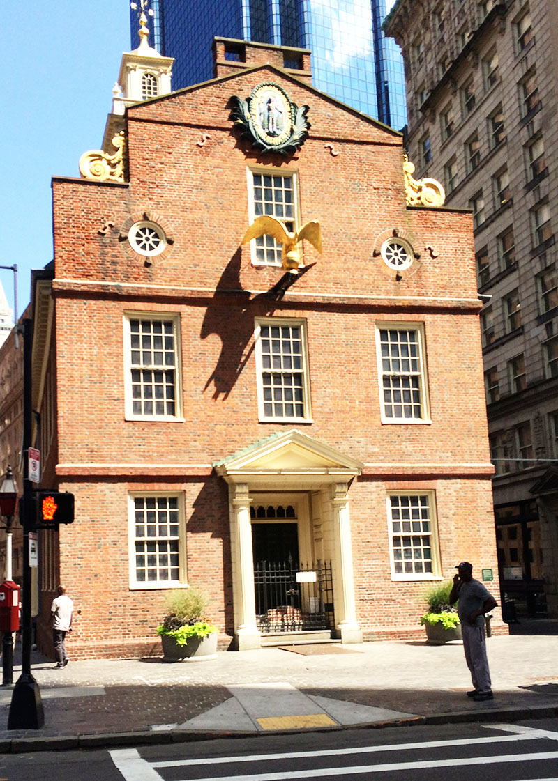 Boston Old State House | Sprig and Flours