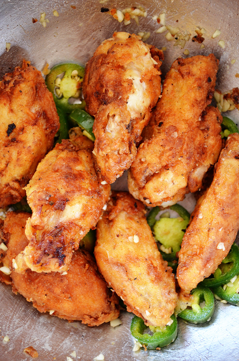 Buttermilk Fried Chicken Wings | Sprig and Flours