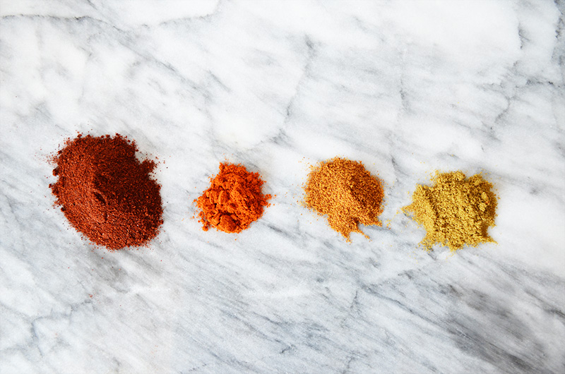 Chili Spices | Sprig and Flours
