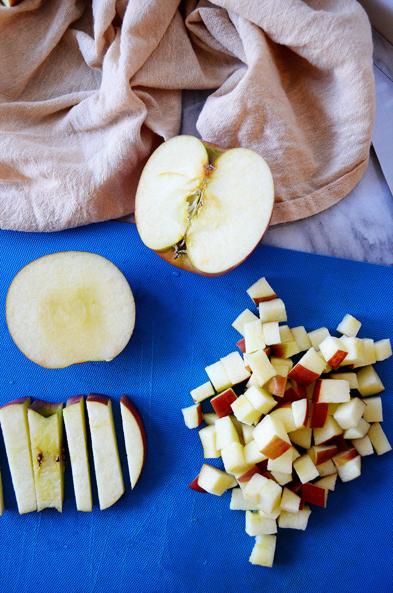 Diced Apples | Sprig and Flours