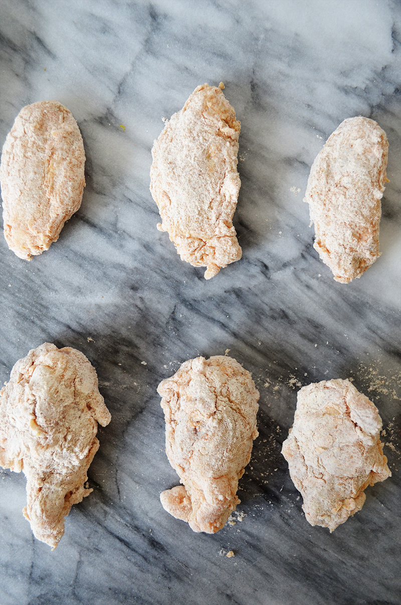 Dredged Chicken Wings | Sprig and Flours