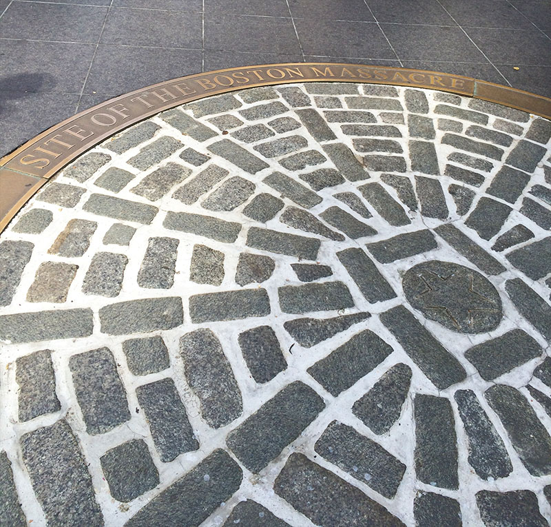 Site of the Boston Massacre | Sprig and Flours