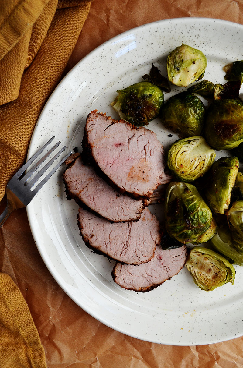 Roasted Cajun Pork Tenderloin | Sprig and Flours