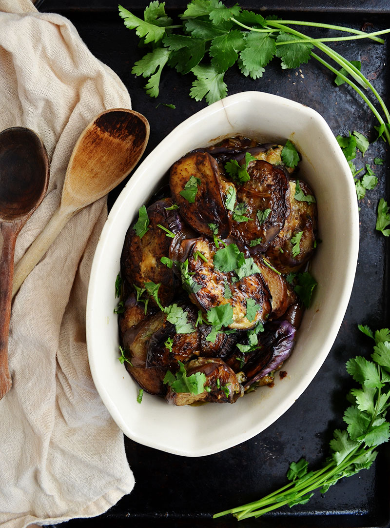 Stuffed Chinese Eggplant | Sprig and Flours