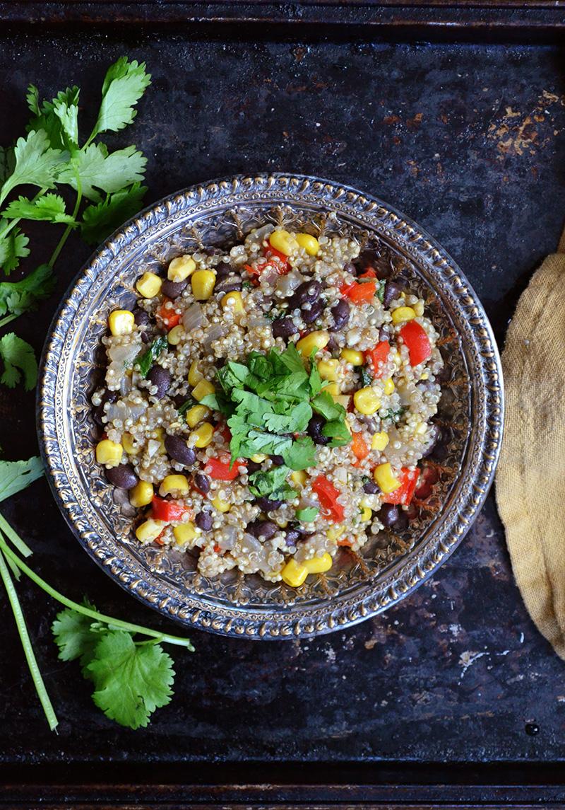 Southwestern Quinoa | Sprig and Flours