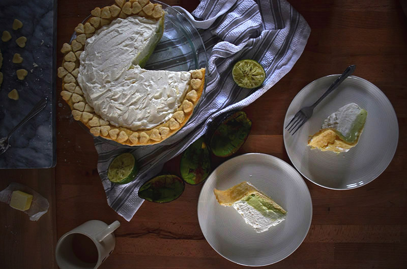 Avocado Pie | Sprig and Flours copy