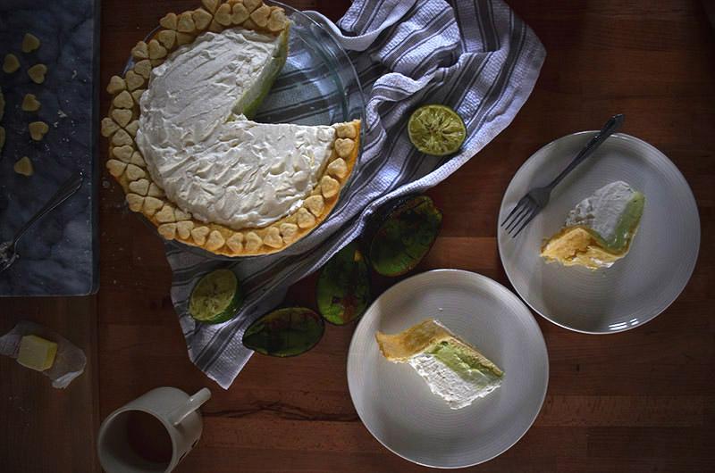 Avocado Pie | Sprig and Flours copy