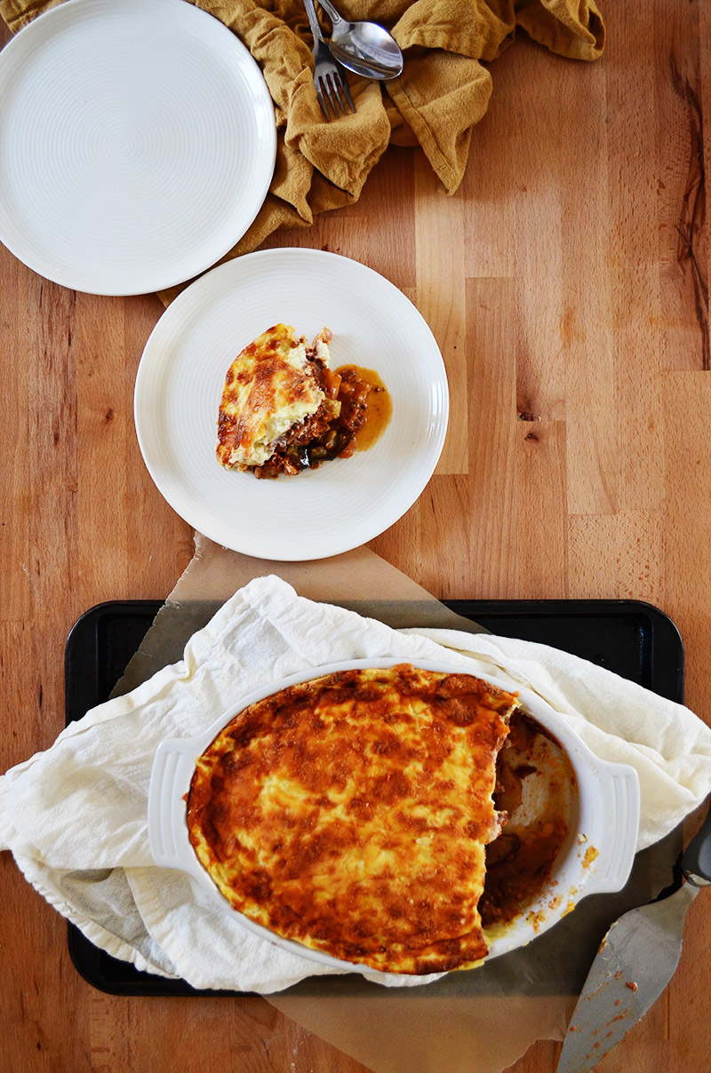 Moussaka | Sprig and Flours