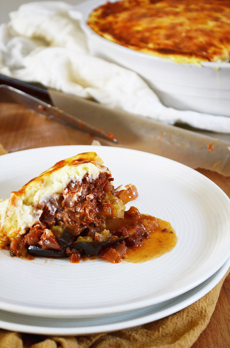 Moussaka | Sprig and Flours copy