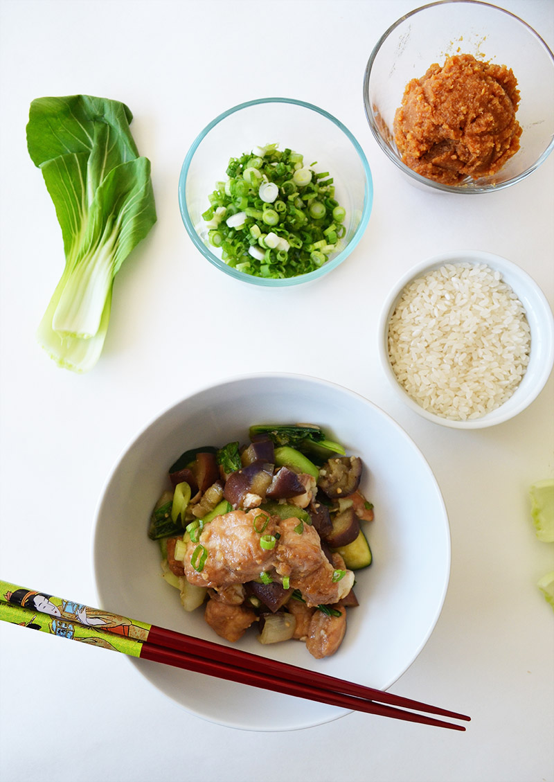 Miso Catfish Stir Fry | Sprig and Flours