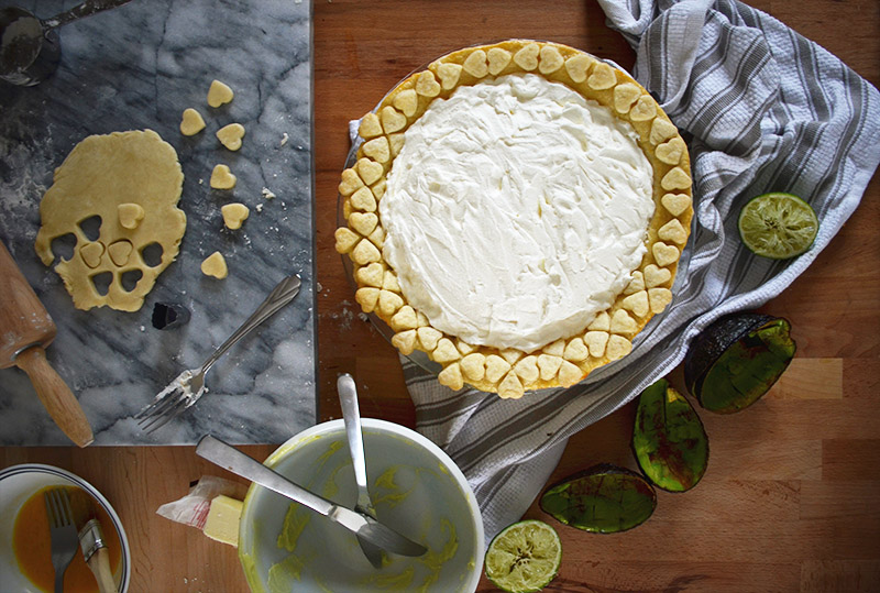 Avocado Pie | Sprig and Flours