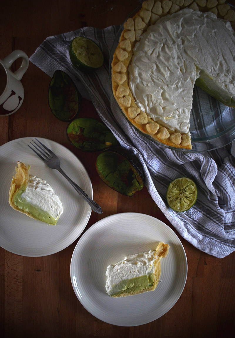 Avocado Pie | Sprig and Flours