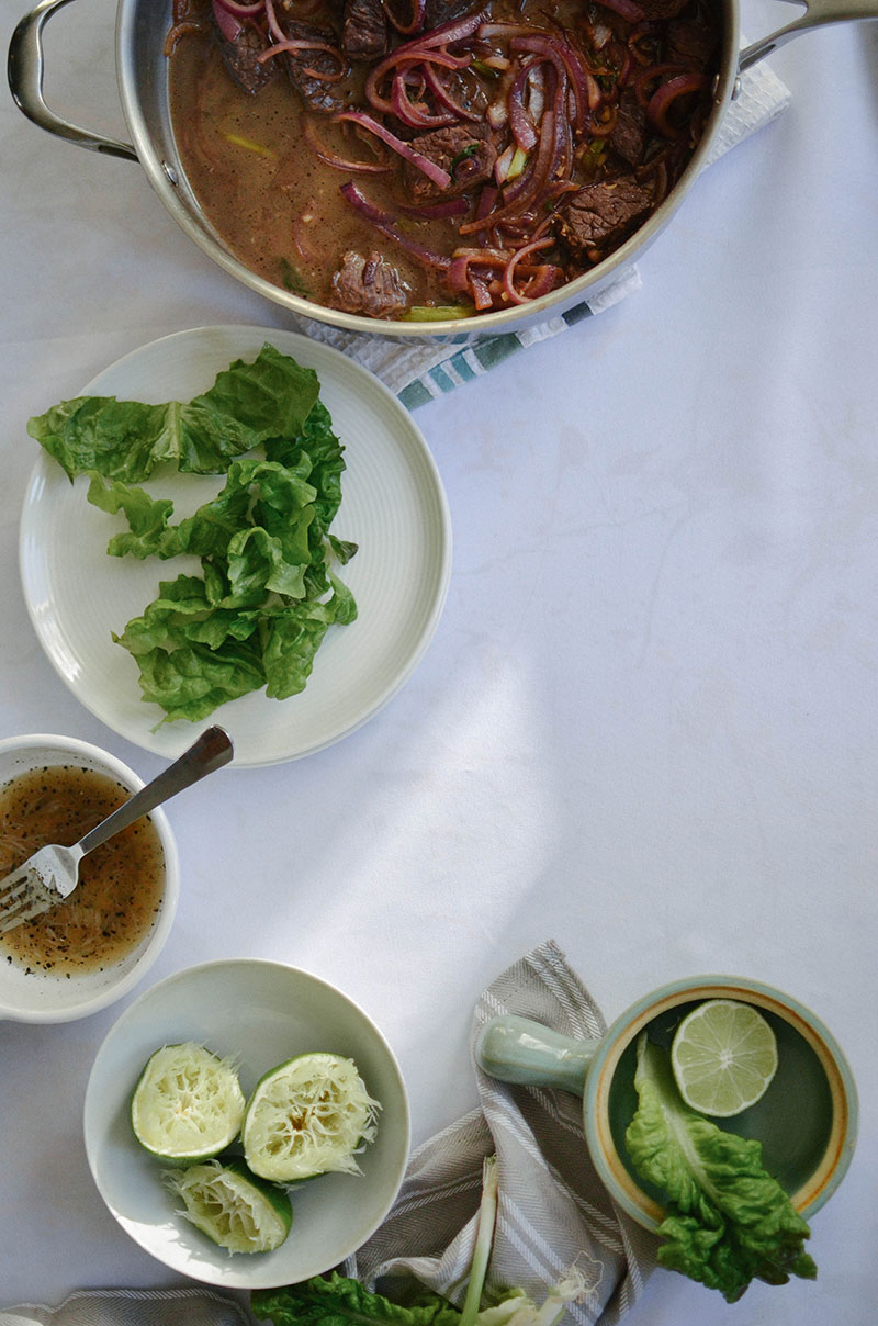Vietnamese Shaking Beef | Sprig and Flours 47