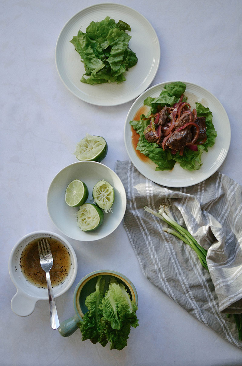 Vietnamese Shaking Beef | Sprig and Flours 55