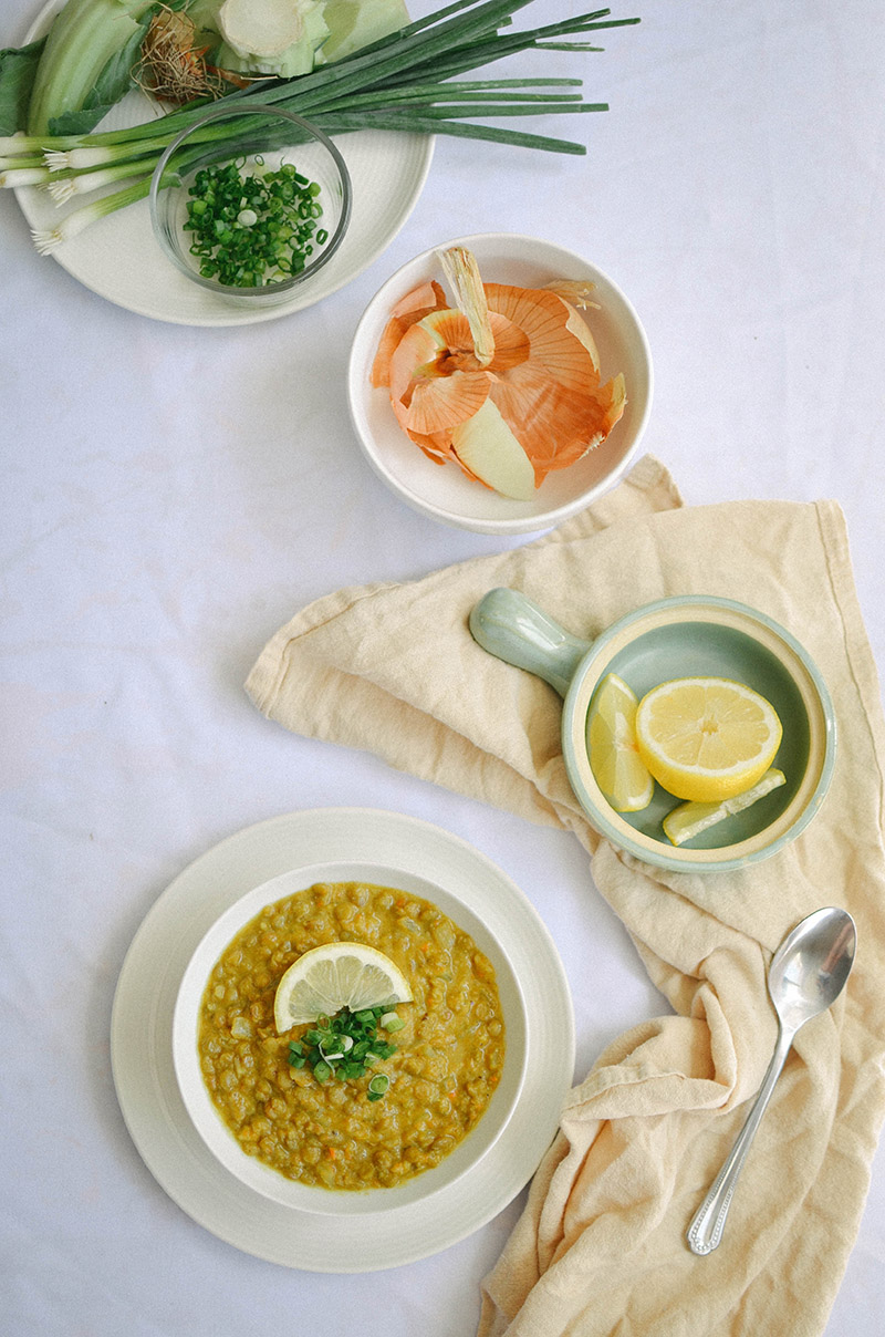 Curried Lentil Soup | Sprig and Flours
