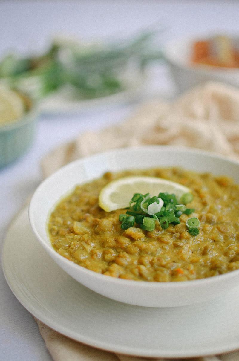 Curried Lentil Soup | Sprig and Flours