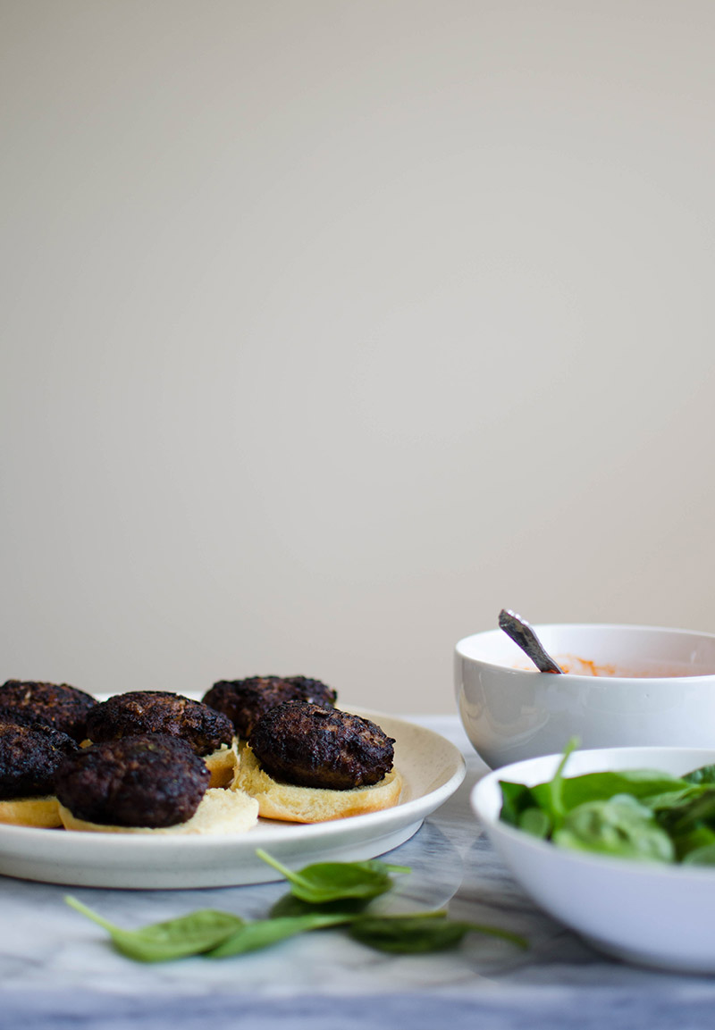 Lamb Sliders with Brown Butter Ketchup   Sprig and Flours