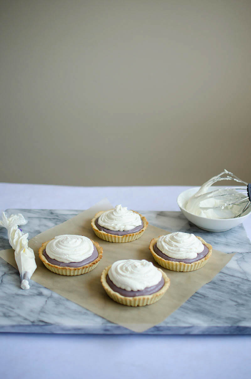 Lavender Honey Tart | Sprig and Flours