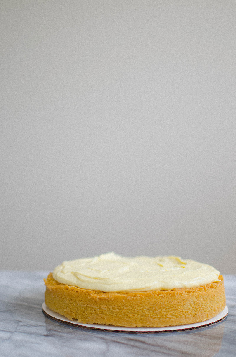 Burnt Sugar Cake with Custard Cream | Sprig and Flours
