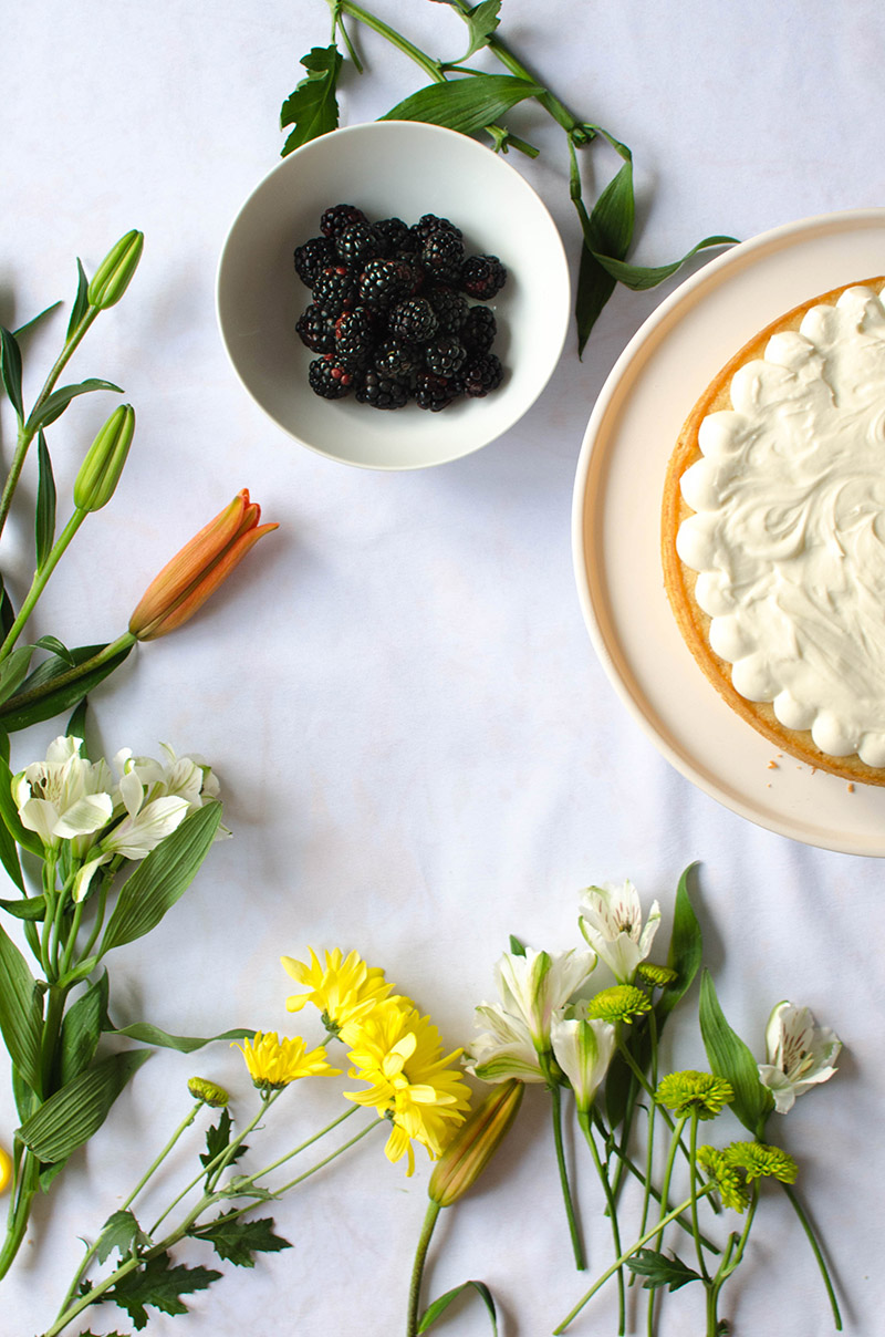 Banana Cake with Cream Cheese Frosting | Sprig and Flours