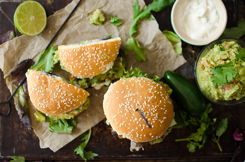 Spicy Guacamole Burgers | Sprig and Flours-12