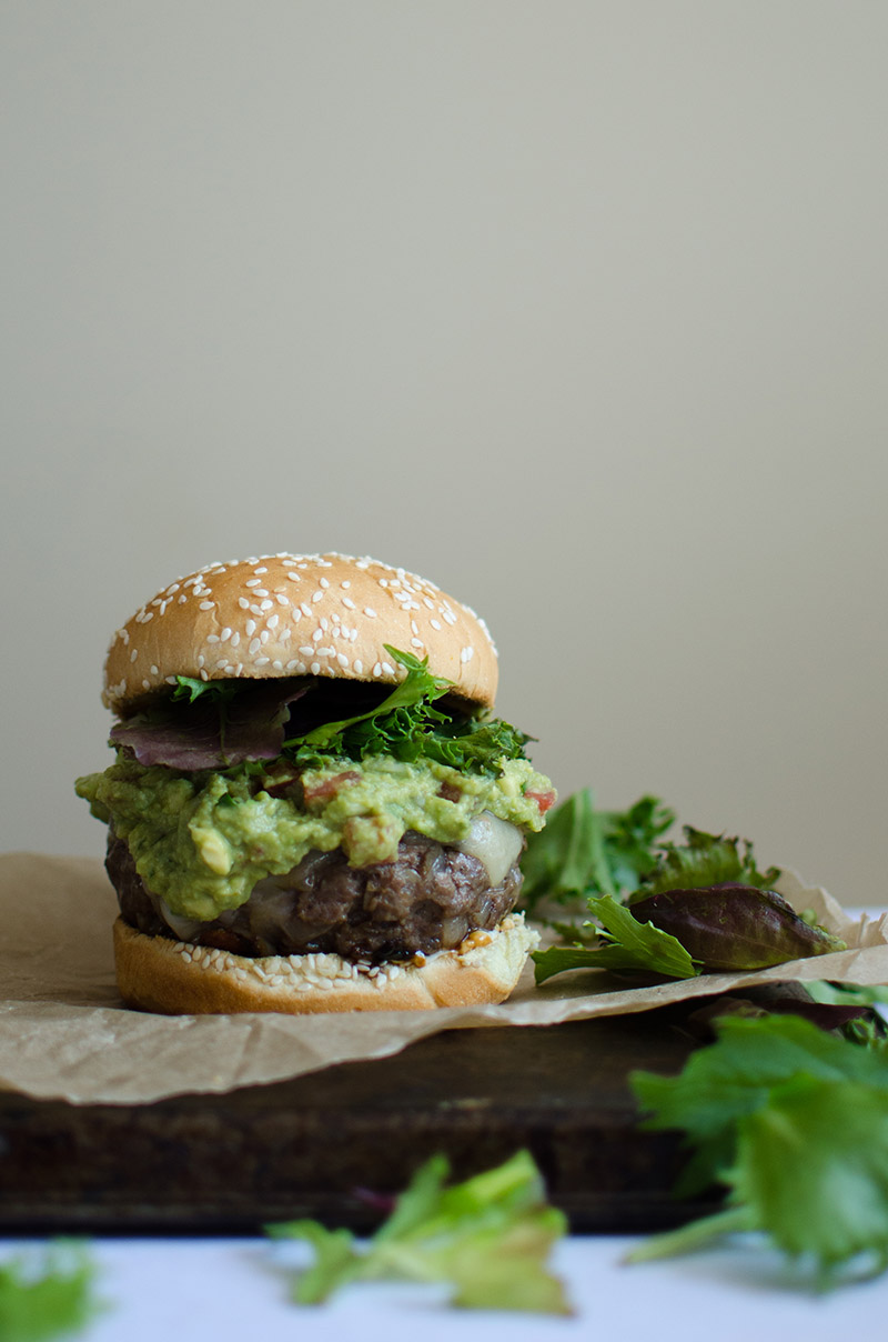 Spicy Guacamole Burgers | Sprig and Flours-3