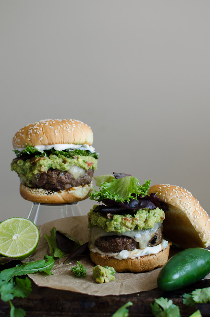 Spicy Guacamole Burgers | Sprig and Flours-5