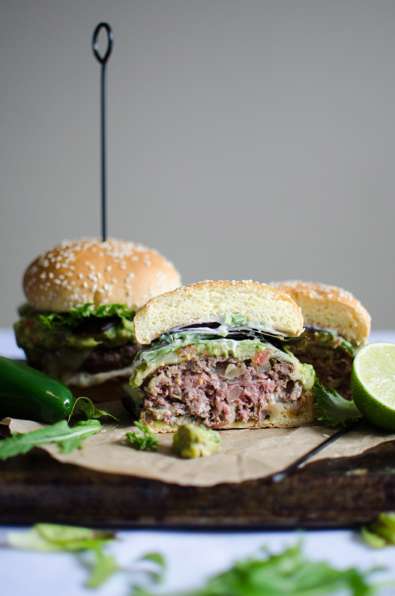 Spicy Guacamole Burgers | Sprig and Flours-8