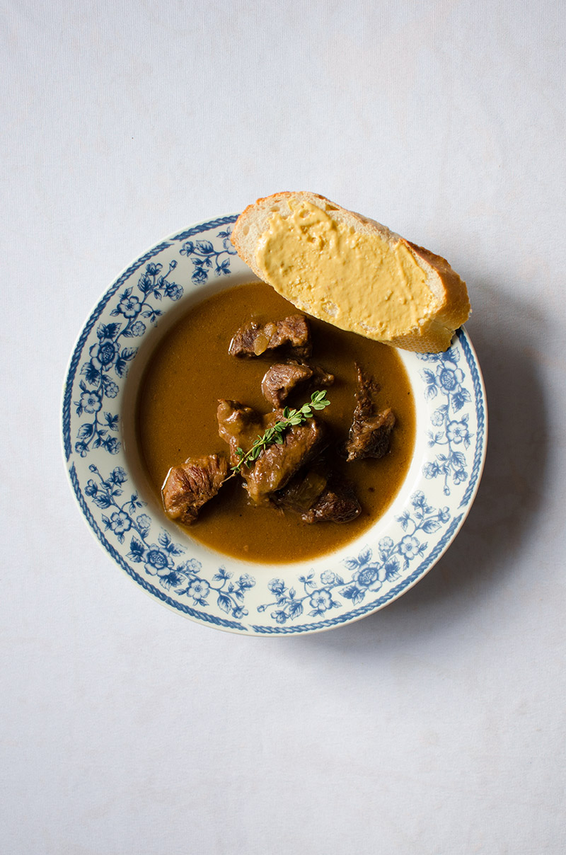 Belgian Beef Stew (Carbonnade) | Sprig and Flours