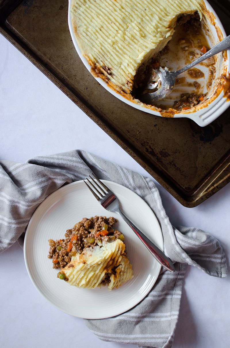 Shepherd's Pie with Beer Gravy | Sprig and Flours