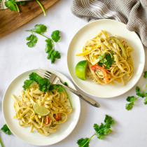 Chicken Tequila Fettuccine | Sprig and Flours