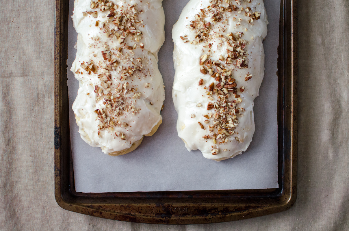 Almond Braid Sweet Bread | Sprig and Flours-33