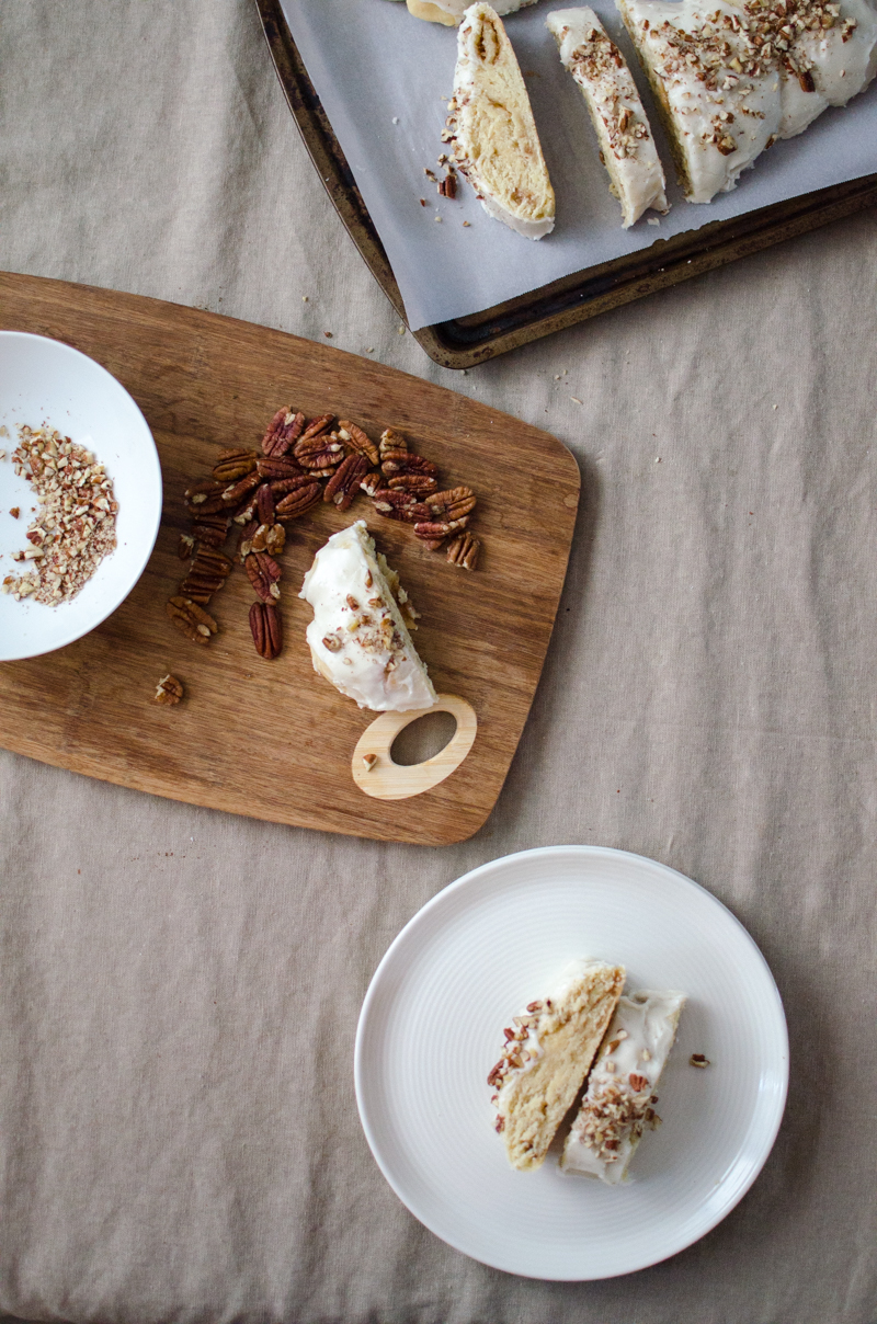 Almond Braid Sweet Bread | Sprig and Flours-34