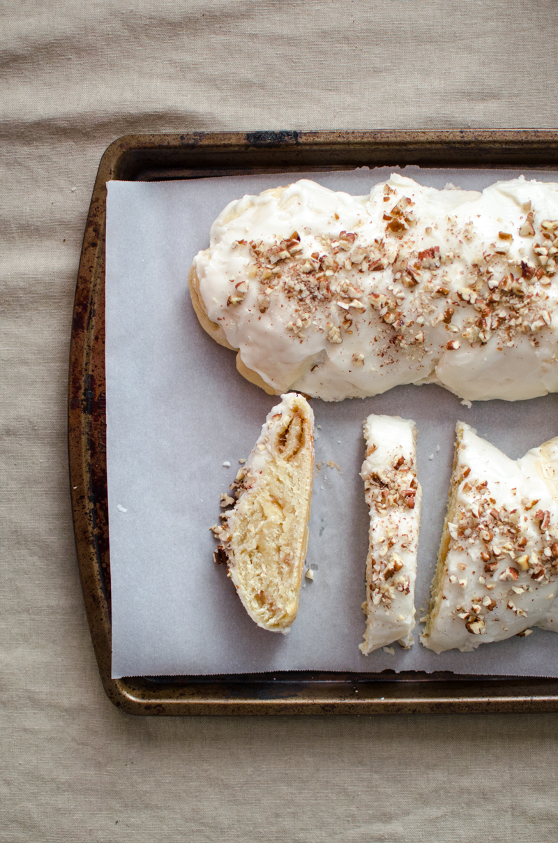 Almond Braid Sweet Bread | Sprig and Flours-36
