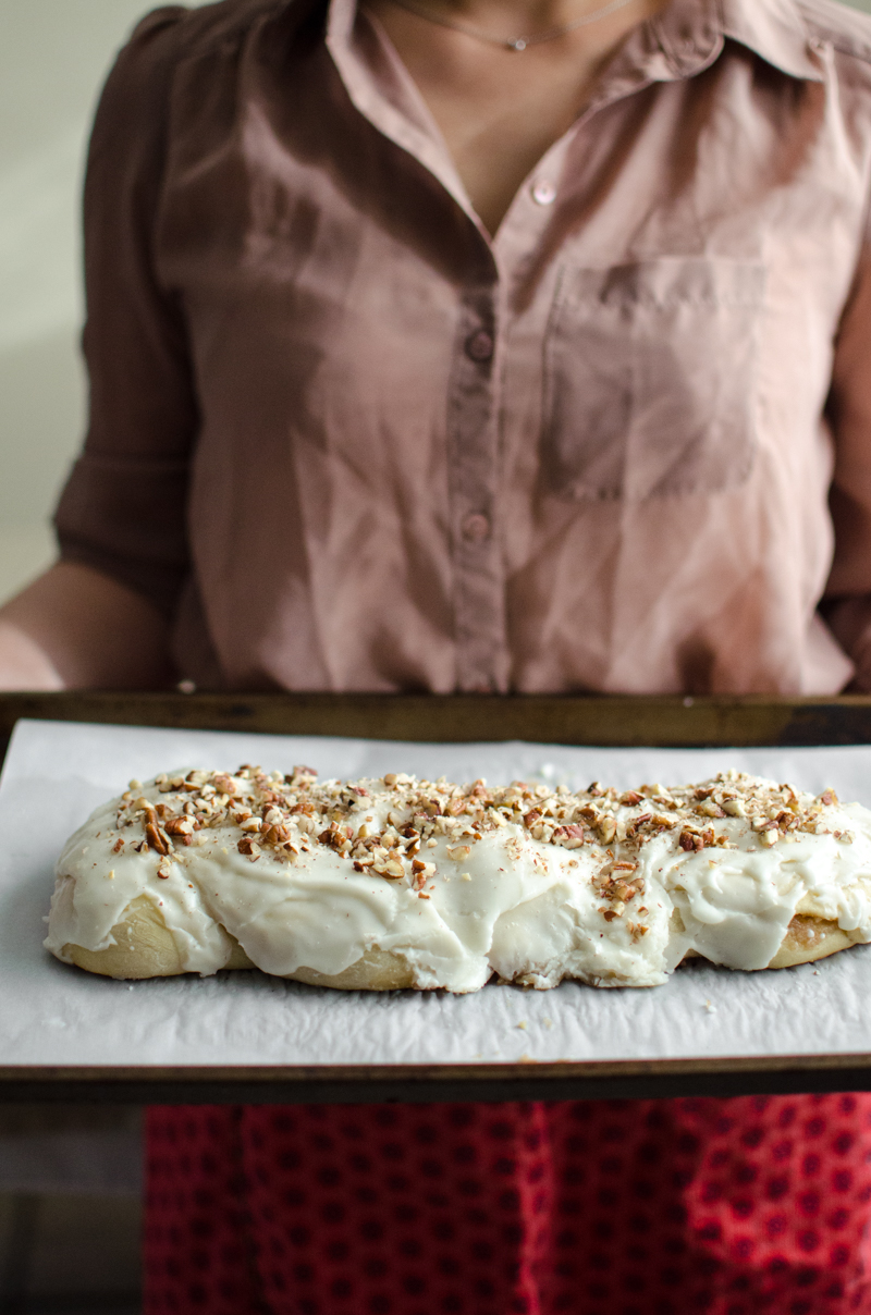 Almond Braid Sweet Bread | Sprig and Flours-42