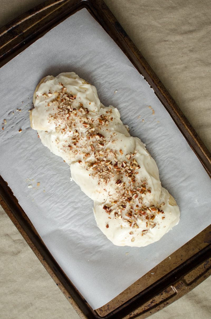Almond Braid Sweet Bread | Sprig and Flours-44