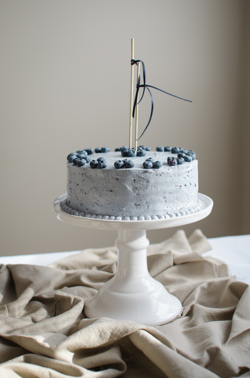 Blueberry Custard Cake | Sprig and Flours-24
