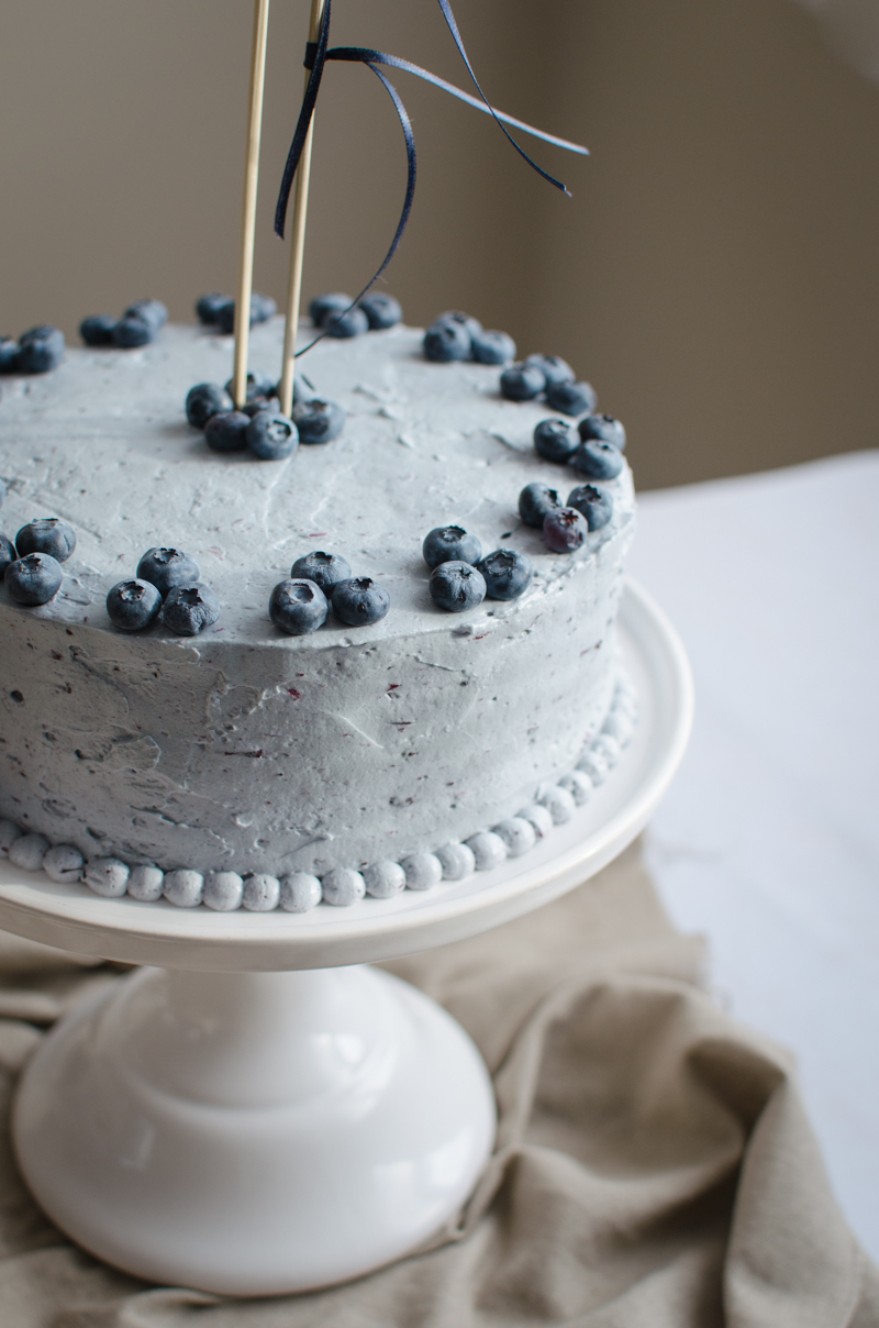 Blueberry Custard Cake | Sprig and Flours-33