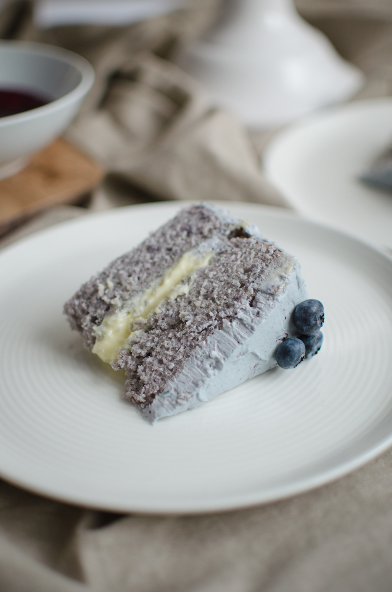 Blueberry Custard Cake | Sprig and Flours-53