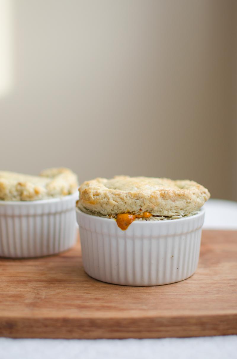 Chicken Tikka Masala Pot Pies | Sprig and Flours-21