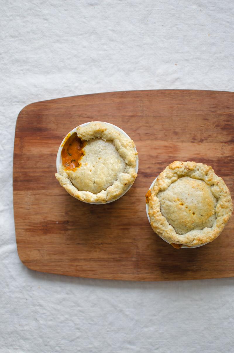 Chicken Tikka Masala Pot Pies | Sprig and Flours-22