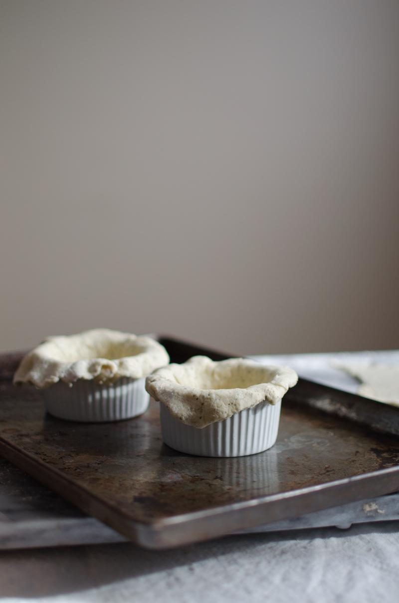 Chicken Tikka Masala Pot Pies | Sprig and Flours-8