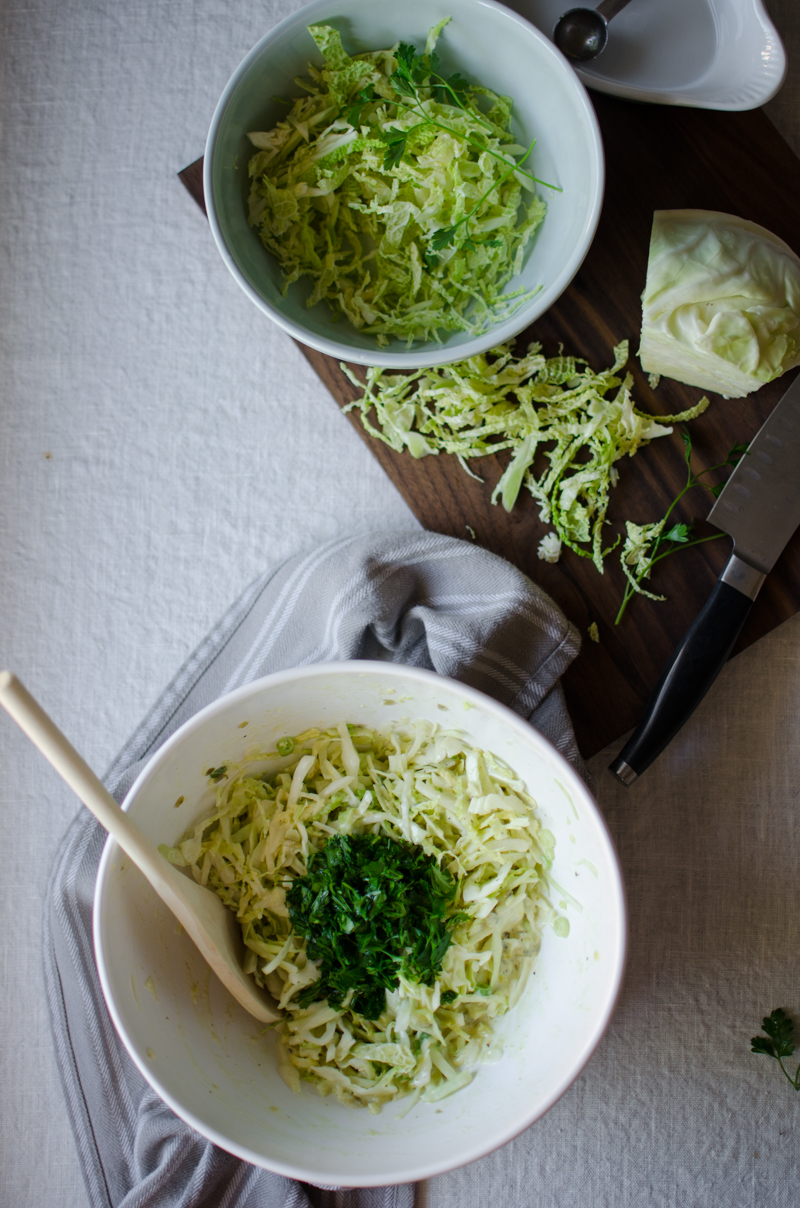Green Coleslaw | Sprig and Flours-1