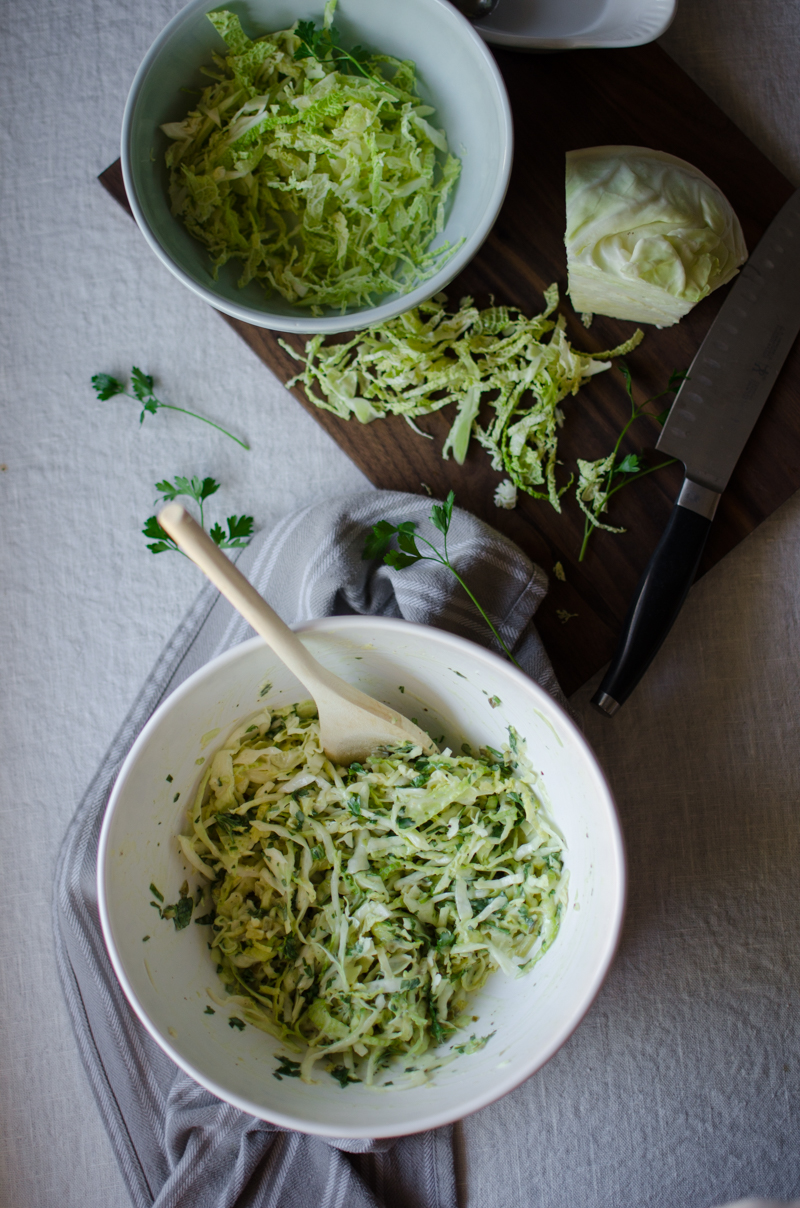 Green Coleslaw | Sprig and Flours-4
